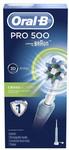 Oral-B Pro 500 3D White Electric Toothbrush + Bonus Eye Mask for $49.50 at Watsons