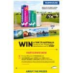 Win 1 of 8 Pairs of Tickets Flying Scoot to Australia [Purchase $5 Worth of Farmhouse Milk Then SMS Receipt Number]