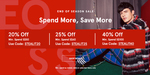 20% off ($50 Min), 25% off ($60 Min) or 40% off ($100 Min) Selected Styles at Zalora [Plus Extra 12% off with Google Pay]