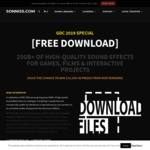 [Free Download] 25GB+ of High Quality Sound Effects for Games, Films and Interactive Projects @ Sonniss