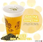 Free Cup of Alisan GCM Tea at Gong Cha (Compass One) (Facebook Like/Instagram Follow Required)