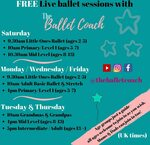'The Ballet Coach' launches free online Ballet Classes for all levels and ages@Sarah Du-Feu theballetcoach