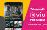 24-Month Viu Premium Subscription for $90 via Fave