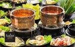 Steamboat Buffet with Free-Flow Drinks for 2 People for $39.10 (U.P. $63.60) at Fusion Spoon via Fave
