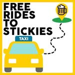 Up to $15 Reimbursement for Taxi, Uber or Grab Rides with at Minimum Spend of $50 at Stickies Bar