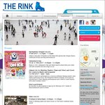 1 for 1 Admission at The Rink for Valentine's (10th and 11th February, 9.45pm to 11.45pm)