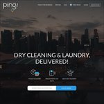 50% Cashback on Dry Cleaning & Laundry at Piing