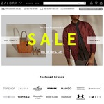 18% off Sitewide at Zalora ($120 Minimum Spend)
