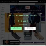 Zalora Sports Clearance Sale - 20% to 50% off Sports Brands