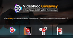 Free: VideoProc V3.0 (2000 Free Copies/Day)