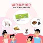 Redeem a $5 CapitaVoucher with $10 min spend at Bukit Panjang Plaza (6-9pm)