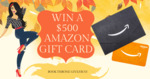 Win a USD $500 Amazon Gift Card from Book Throne