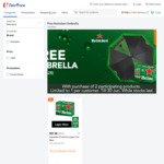 Free Umbrella (Worth $28) with the Purchase of 2 Participating Heineken Products at FairPrice On