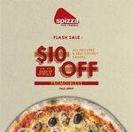 $10 off ($40 Minimum Spend) at Spizza