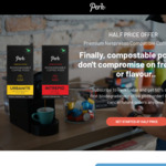 Subscribe to Perk and Get 50% off Your First Biodegradable Coffee Pods Order