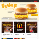 Free Delivery at McDonald's McDelivery ($25 Min Spend, DBS PayLah! Payments)