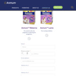 Free Sample of Anmum Materna or Anmum Lacta Delivered from Anmum