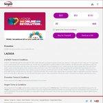 20% Bonus Value on Lazada Vouchers Purchased at Singtel Gifts ($24 Voucher for $20, $60 Voucher for $50, $120 Voucher for $100)