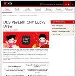 Free $5 Cash Gift for New Sign Ups to DBS PayLah! App