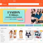 20% off Lingerie and Beachwear at Shopee