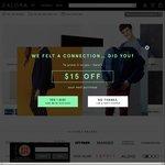 15% off Sitewide at Zalora ($120 Minimum Spend)