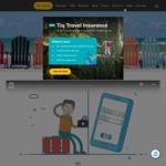 54% off Single Trip Plan + 10% Cashback with Singtel Dash at Tiq Travel Insurance