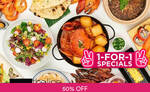 1 for 1 Lunch Buffet ($76.50) at The Line, Shangri-La Hotel via Fave