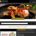 $10 off $20, $20 off $40, $40 off $80 Spend @ Paradise Group Restaurants