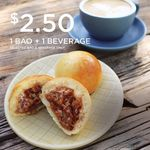 Bao and Beverage for $2.50 at My BAO