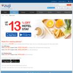 13% off Hotel Bookings @ Zuji