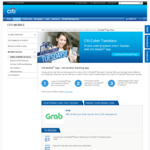 $5 off Grab [Pay by Citibank Cards, Citi Mobile App]