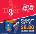 Tiger 6 Can Pack for only $8.80 (Usual Price $16.40)