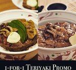 1 for 1 Teriyaki Promo at Yayoi