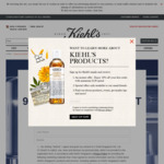 Free 9pc Skin Clarity Kit from Kiehl's (Collect In-Store)