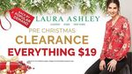 Laura Ashley Pre Christmas Clearance Sale - Everything $19 (Jurong East)