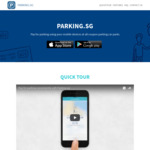 1 Hour of Parking Rebated via Cashback via Parking.sg (Singtel Dash, Non-Peak Hours)