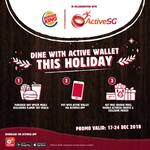 Free Chicken Fries & Double ActiveSG Credits with Any Upsized Meal Purchase at Burger King (ActiveSG App Required)