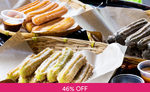 10 Pieces of Classic Flavoured Churros with 3 Dipping Sauces for $6.50 (U.P. $12) at Churros Factory via Fave