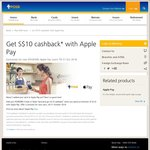 Get $10 Cashback When You Spend Over $10 Using Apple Pay with a POSB/DBS Card (New Users)