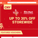 Tiger Beer x Shopee Chinese New Year 2020 - Up to 25% Storewide
