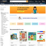 $5 off ($50 Min Spend) Study Guides & Activity Books at Amazon SG [Prime Members]