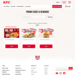 10 for $10 Chicken & Tenders at KFC