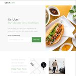 Order 3 Meals from UberEATS and Redeem 400 Chope-Dollars (about $10)