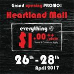 Everything at $1/Plate - Sushi Express (Heartland Mall, Wednesday 26th to Friday 28th April)
