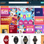 18% Off Purchase at Lazada (Capped at $8) [New Customers]