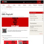 Free $5 Credit for New DBS PayLah! Users