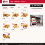 Zinger Burger for $1.10 at KFC Delivery