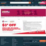 $3 off Fuel with Techron at Caltex ($50 Minimum Spend)
