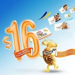 Breadtalk 16th Anniversary Offers - Buy Discount Booklet at $16 Redeem Free Items over 2 Months Over $50 value