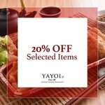 20% off Selected Items at Yayoi